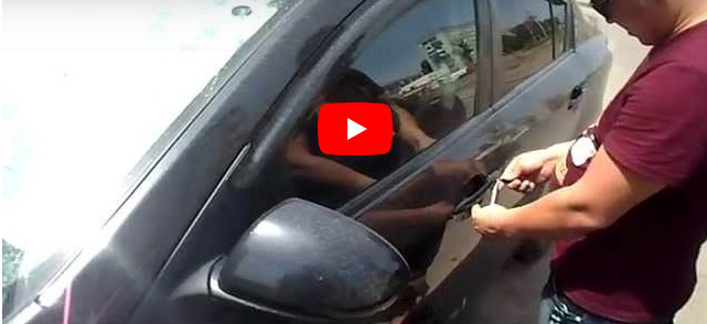 Видео как вскрыть автомобиль в Астрахани