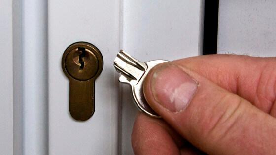 поломали ключ от двери
